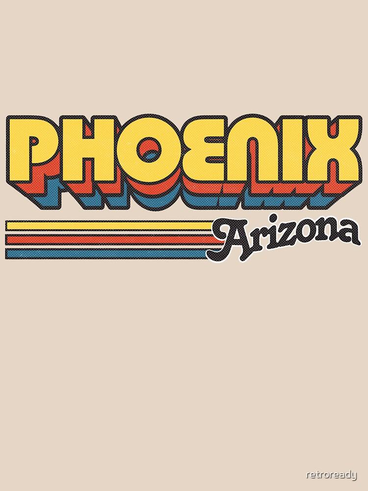 Phoenix, AZ | City Stripes by retroready