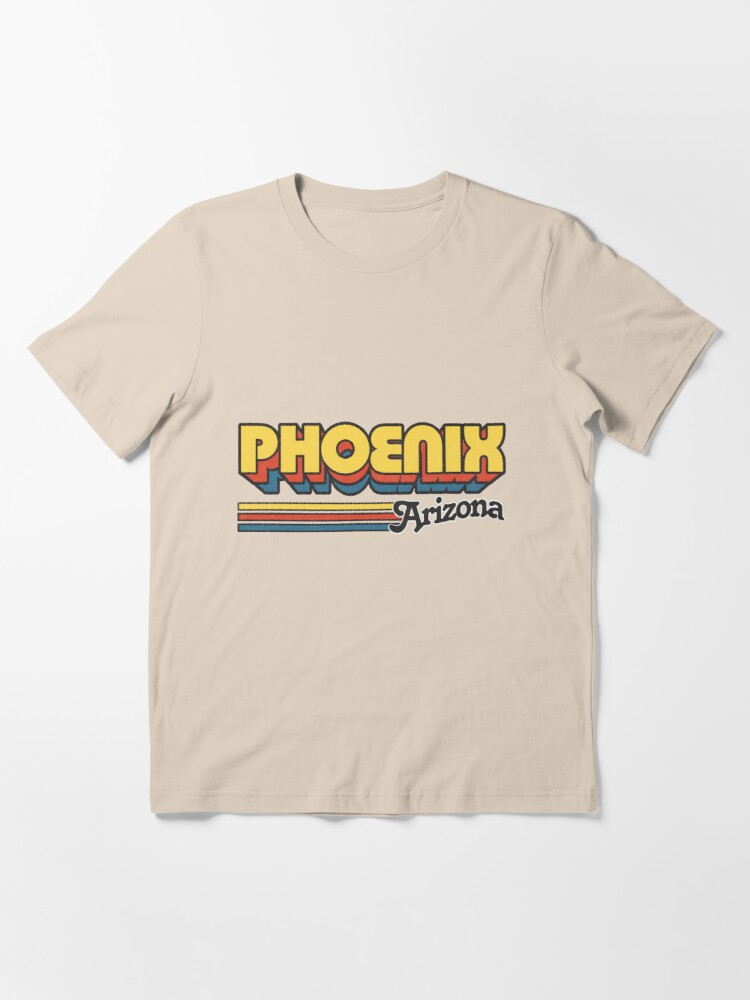 Alternate view of Phoenix, AZ | City Stripes Essential T-Shirt