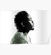 Kendrick Lamar - Abstract Pen Line Art Poster