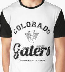 """Colorado Gaters"" - SG-1 Varsity Graphic T-Shirt"