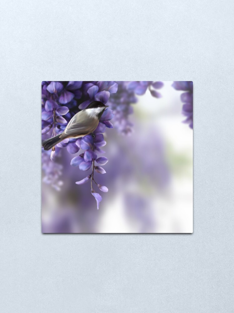 Alternate view of The Sweetness of Spring Metal Print