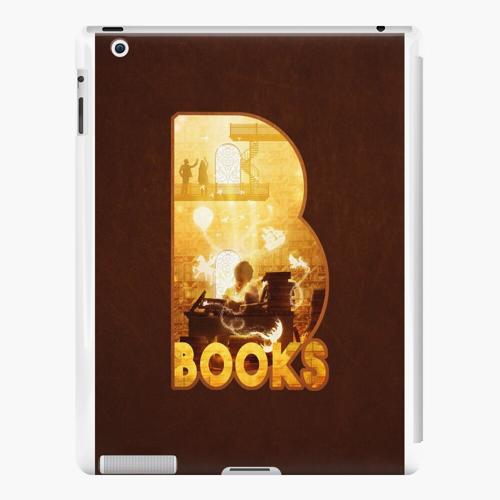 B for Books iPad Cases & Skins