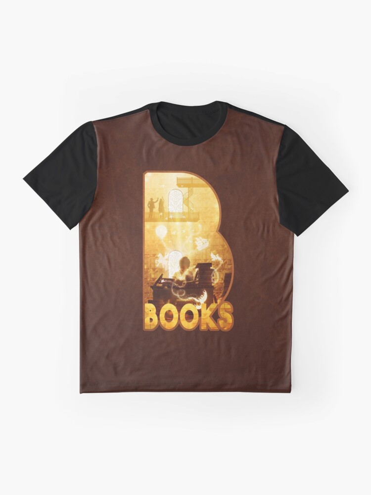 Alternate view of B for Books Graphic T-Shirt