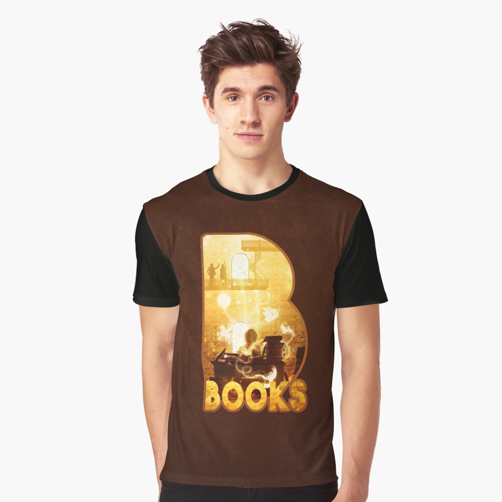 B for Books Graphic T-Shirt
