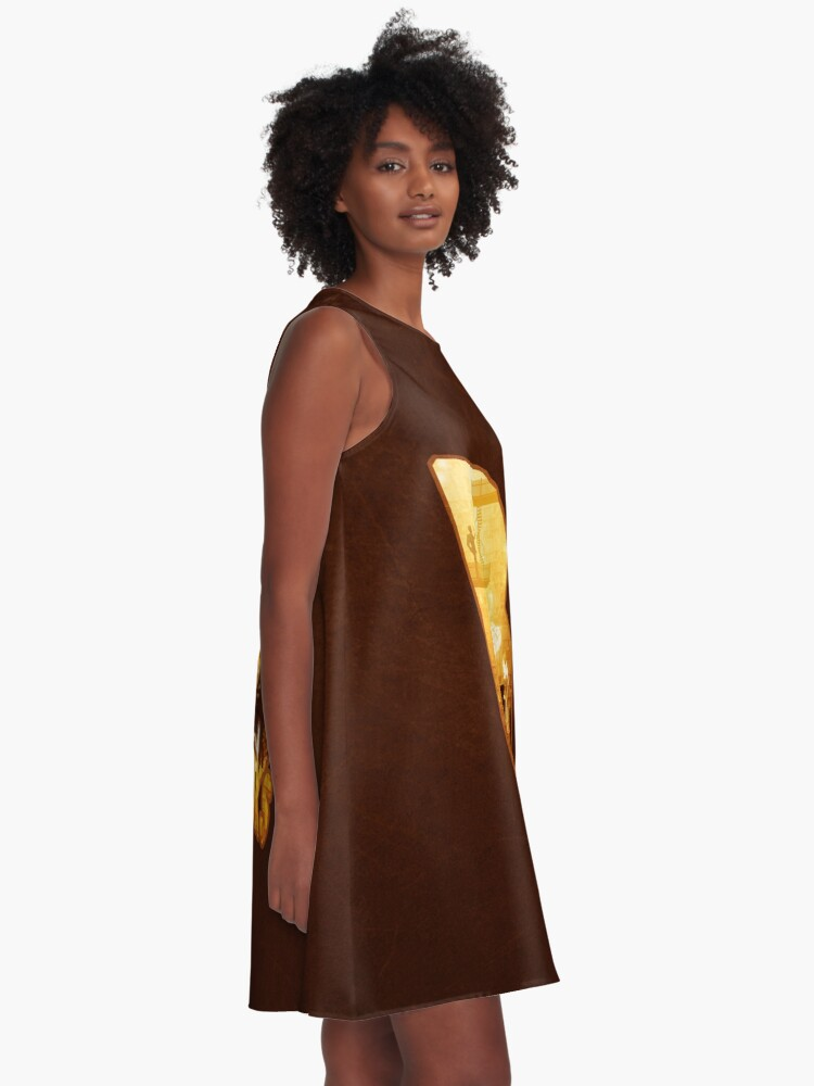 Alternate view of B for Books A-Line Dress