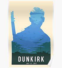 Die Schlacht von Dünkirchen Green Poster