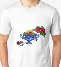 Classic Fruit Bowl Digital Enhanced T-Shirt