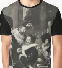 Banquet of the Officers of the St Hadrian Civic Guard Company by Frans Hals 1627 Graphic T-Shirt
