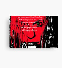 Damaged Goods Canvas Print