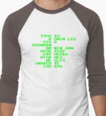 Oregon Trail - Ways to Die in the West Men's Baseball ¾ T-Shirt