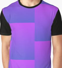 Abstract Purple Gradient  Graphic T-Shirt