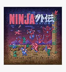 Gaiden Ninja Photographic Print