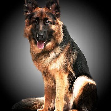 Lord German Shepherd by TONYNSANE