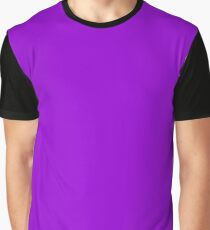 Dark Violet Graphic T-Shirt
