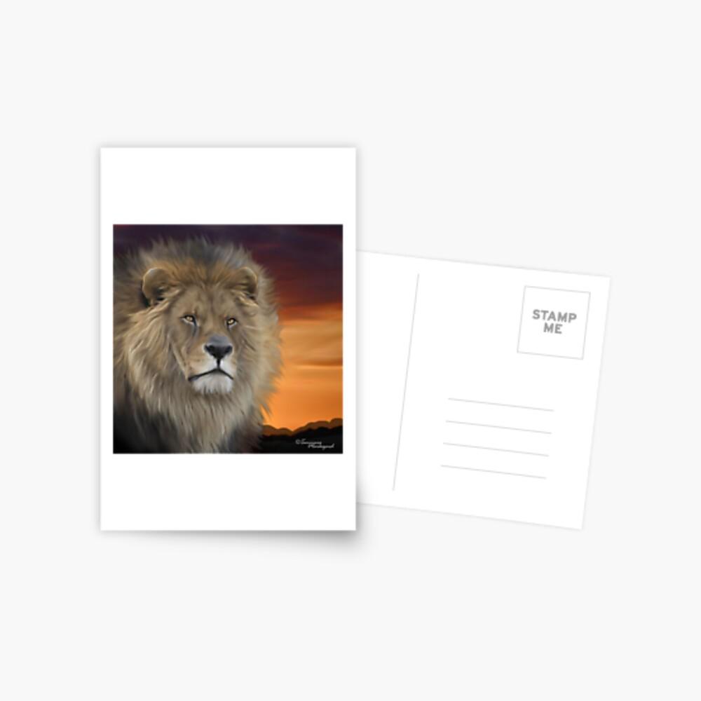 His Majesty Postcard