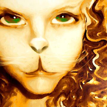 Feline Grace by Constance