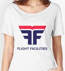Flight Facilities Logo Women's Relaxed Fit T-Shirt