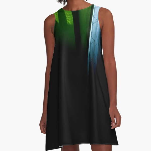 Draped Around Your Finger A-Line Dress