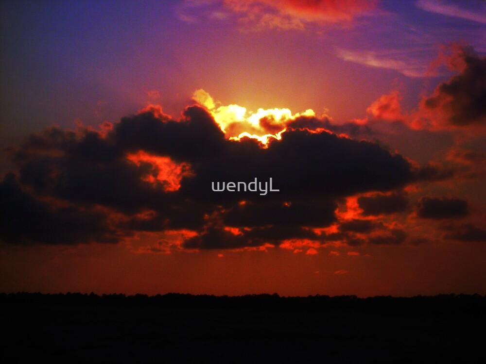 Fire cloud by wendyL