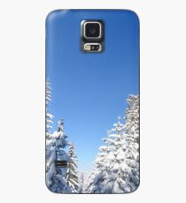 Blue Sky and Heavy Snow Case/Skin for Samsung Galaxy