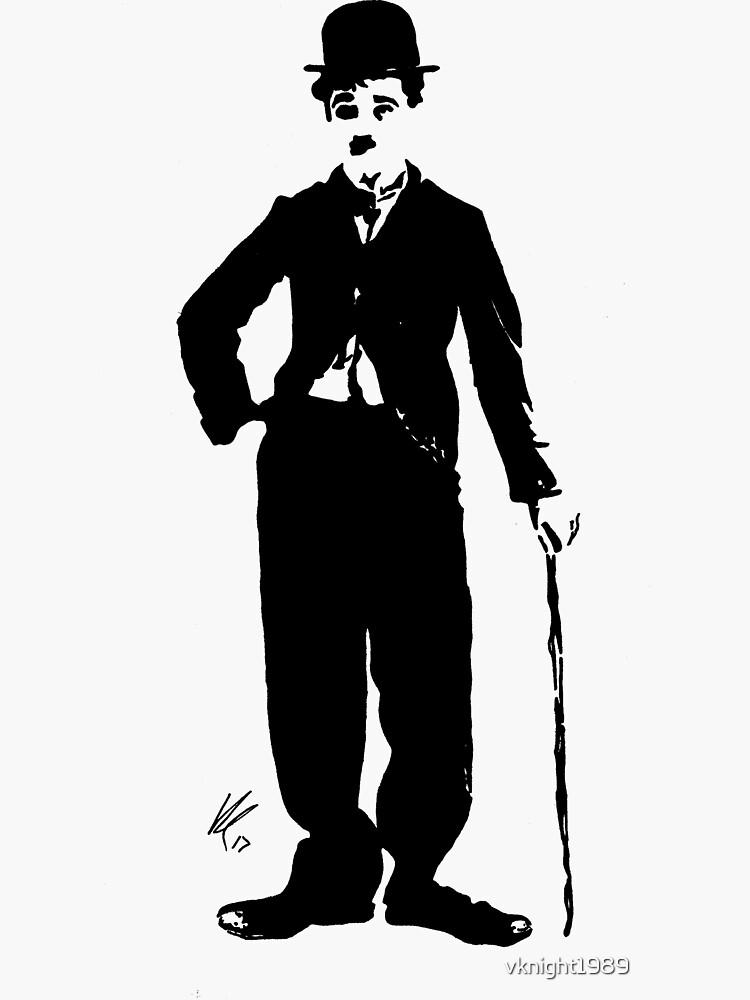 Charlie Chaplin de vlmcl-art