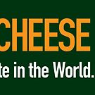 Be the CHEESE Wis-Kid by gstrehlow2011