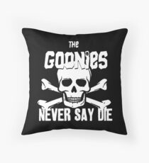 Never Say Die T-Shirt Throw Pillow