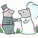 Mole Wedding by zoel