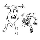 Geometric Taurus (Stier) by mrf2thed