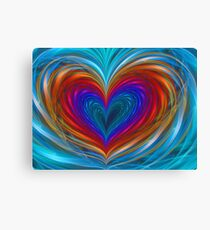 Love Full Of Color  Canvas Print