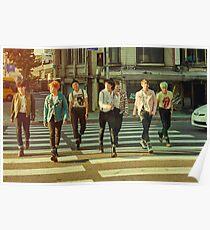 BTS RUN Poster