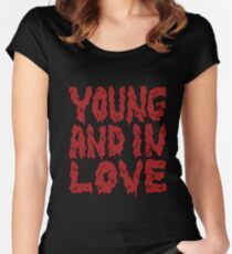 Young and in Love Women's Fitted Scoop T-Shirt
