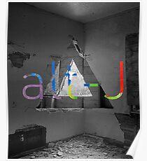 Alt J Room Disaster Poster