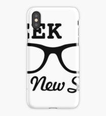 Geek girl iPhone Case