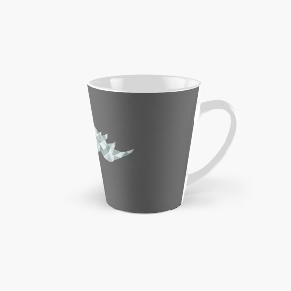 Stain Glass Rhino Grey Tall Mug