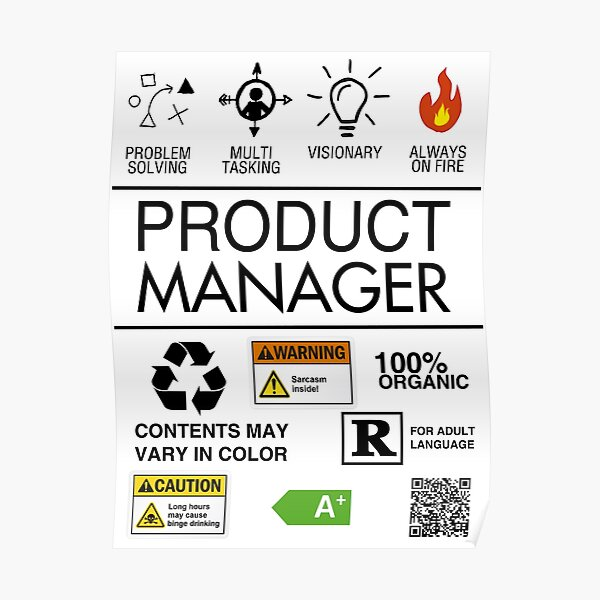 Product Manager Poster