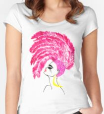 ''Pink'' Women's Fitted Scoop T-Shirt