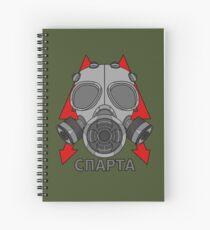 Cuaderno de espiral Metro Gasmask (Sparta)