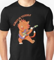 Funny Kitten Dabbing Serenade Always Be Yourself T-Shirt
