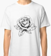 Rose Drawing Classic T-Shirt