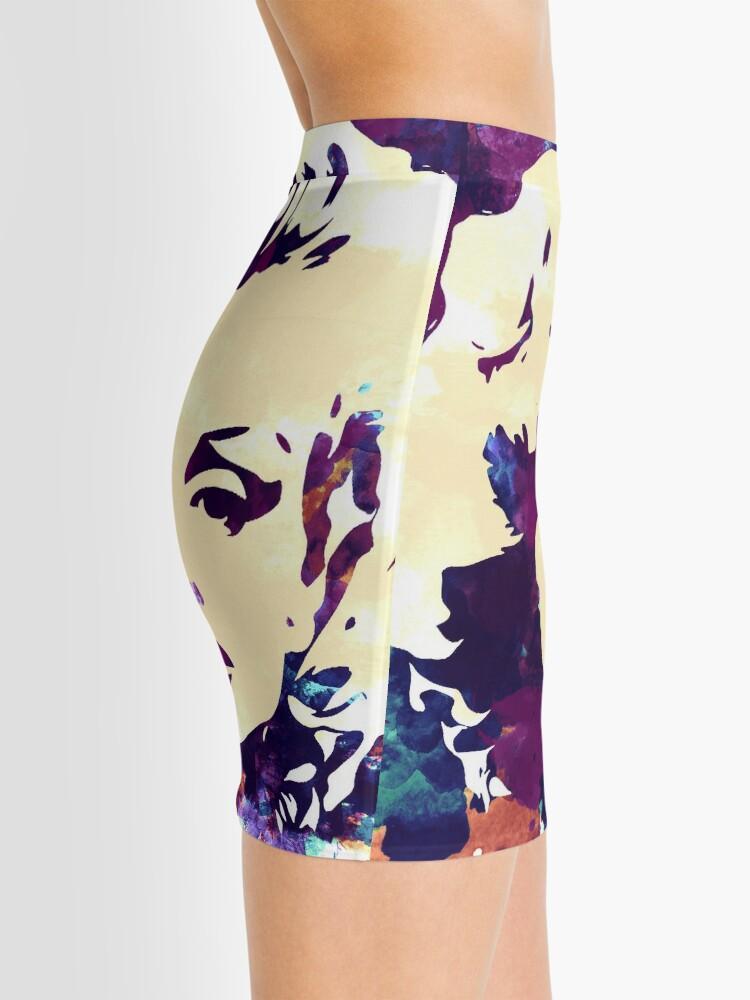 Alternate view of Marilyn Monroe purple colour Mini Skirt