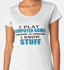 I play so I know Women's Premium T-Shirt