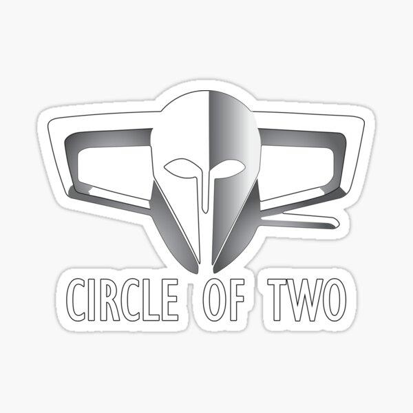 Circle of Two Alliance Logo Sticker