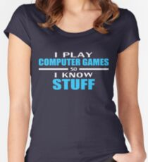 I play so I know Women's Fitted Scoop T-Shirt