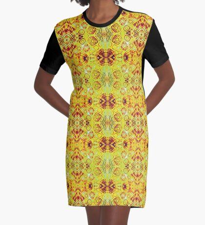 Zen- I Am Sun-Centered Graphic T-Shirt Dress