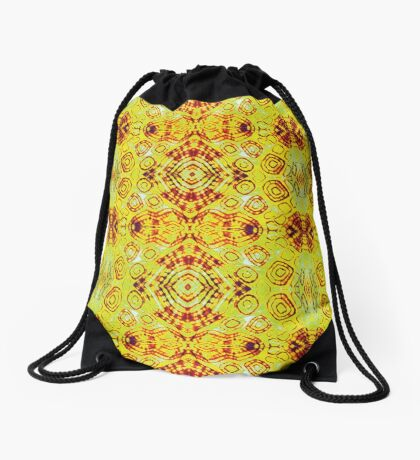 Zen- I Am Sun-Centered Drawstring Bag