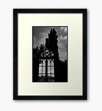 Gothic Library ... Potsdam Framed Print