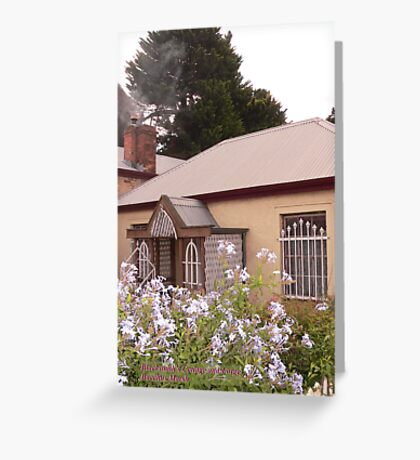 Blacksmith's Cottage - Bacchus Marsh Greeting Card