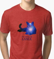 Lance, the space cat Tri-blend T-Shirt