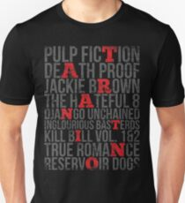 QUENTIN TARANTINO MOVIES VINTAGE GRUNGE STYLE T-Shirt
